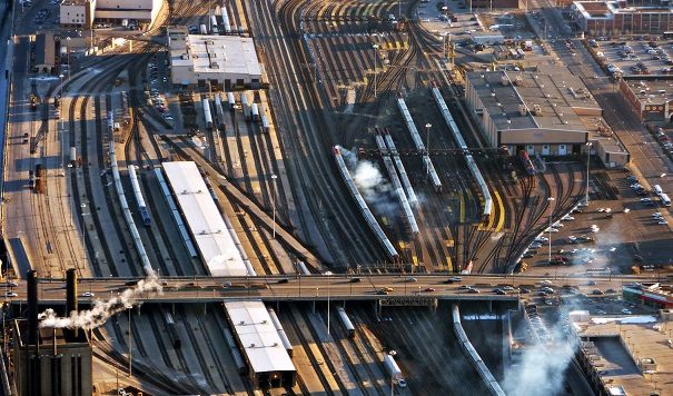 Catching a Moment of Time in the Rail Transportation World